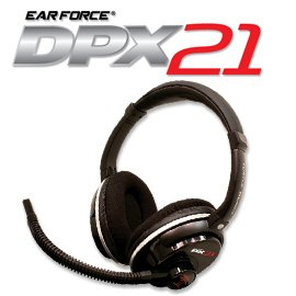 Turtle Beach – Ear Force DPX21 Gaming Headset – Dolby Surround Sound – PS3, X360