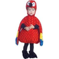 belly babies parrot toddler costume large -