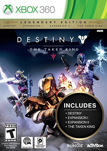 destiny the taken king legendary edition xbox 360 -