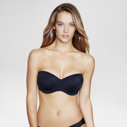 dominique strapless bridal bra 3541 black 40b womens -