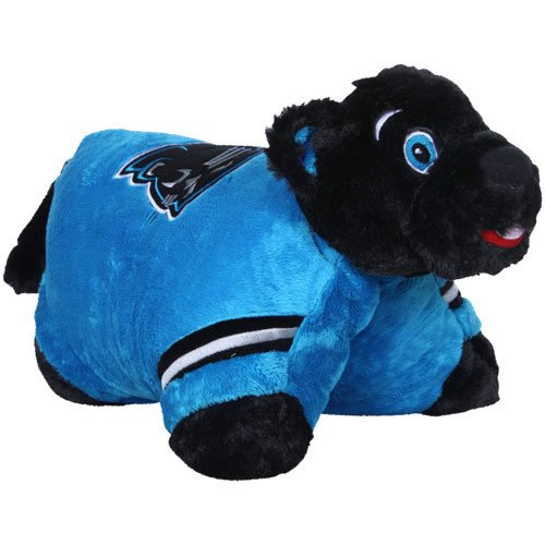 nfl carolina panthers pillow pet -