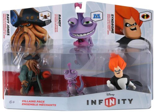 disney infinity figure 3 pack villains 2 -