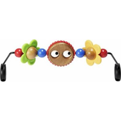 babybjorn wooden toy for bouncer googly eyes -