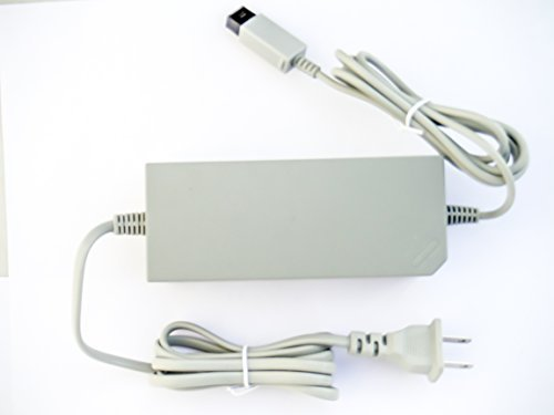 old skool ac power adapter for nintendo wii console -