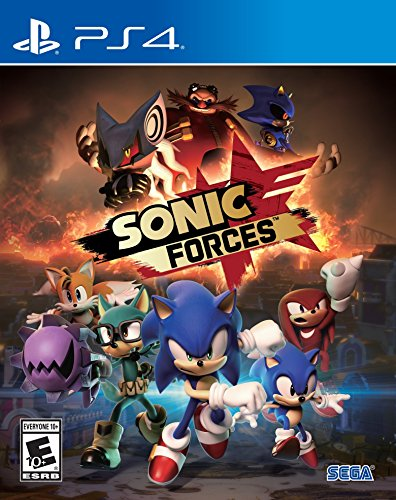 sonic forces standard edition playstation 4 -