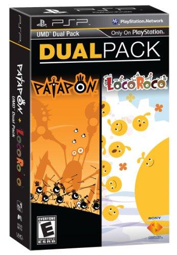 psp dual pack patapon locoroco -