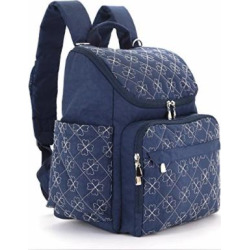 diaper bag backpack with baby stroller straps by hyblom stylish travel -