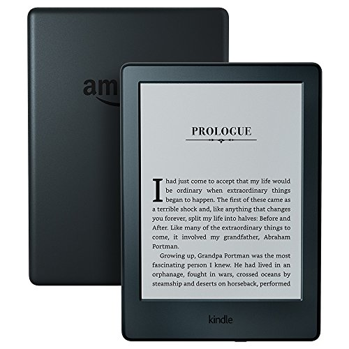 Kindle E-reader – Black, 6″ Glare-Free Touchscreen Display, Wi-Fi –  Includes Special Offers