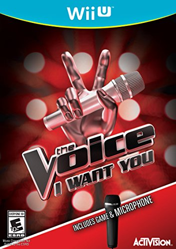 The Voice Bundle with Microphone – Wii U