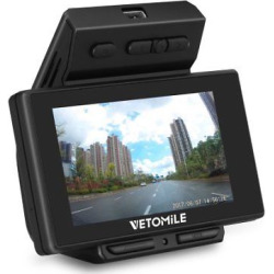 Vetomile V1 Dash Cam 2.7″ LCD Full HD 1080P 170 Wide Angle Dashboard Camera Car DVR Video Recorder With G-sensor,Loop Recording