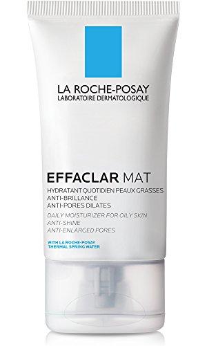 La Roche-Posay Effaclar Mat Oil-Free Face Moisturizer to Mattify Oily Skin, 1.35 Fl. Oz.