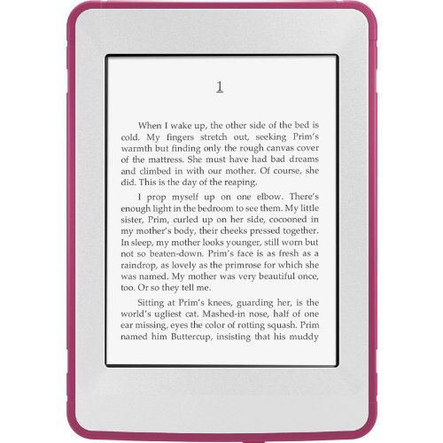 OtterBox Defender Series Protective Case for Kindle Paperwhite, Pink/Papaya