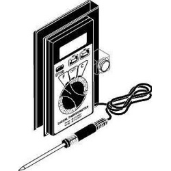 DIGITAL POCKET THERMOMETER 3-1/2 IN. DIGIT LCD DISPLAY per Each