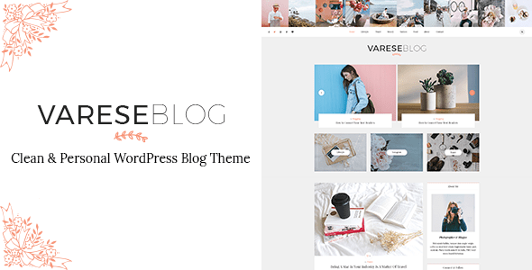 Varese – Clean & Personal WordPress Blog Theme