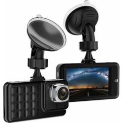 Dash Cam,VKAKA Camera for Cars with Full HD 1080P 170 Degree Super Wide Angle Cameras, 3.0″ TFT Display, G-Sensor, WDR, Loop Recording