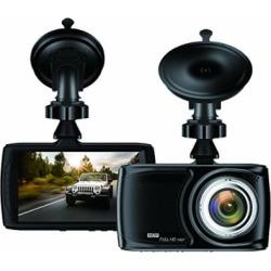 Dash Cam 3.5″ Car camera – BUIEJDOG Car Camcorder 1080P LCD Display Recorder with 170 Degree Viewing Angles Built-in G-Sensor Night Vision Recording Loop Recording and Parking Monitoring