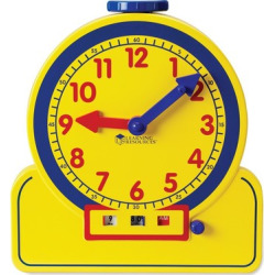 Learning Resources Primary Time Teacher 12-Hour Learning Clock – Demonstration Clock