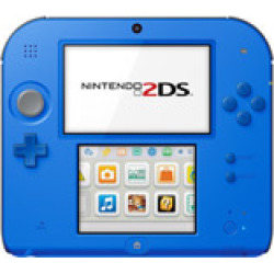 Used Nintendo 2Ds System – Electric Blue