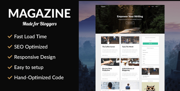 Magazine – SEO Optimized News Theme