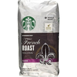 Starbucks French Roast Dark Whole Bean Coffee – 2 – 40 Oz Pack