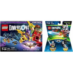 LEGO Batman Movie Story Pack + Excalibur Batman Fun Pack – LEGO Dimensions – Not Machine Specific