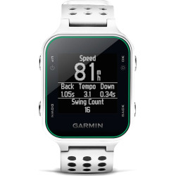 garmin approach s20 gps golf watch white -