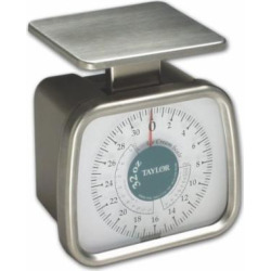 taylor precision tp32 mechanical 2 pound dial ice cream portion scale -