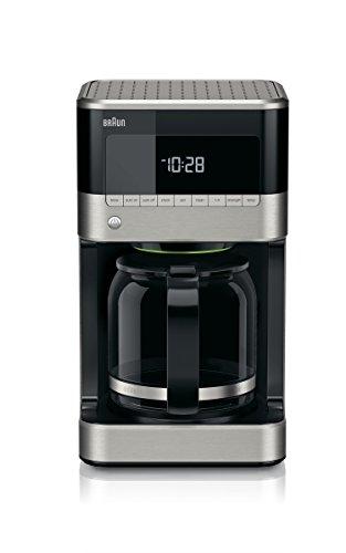 Braun KF7150BK Brew Sense Drip Coffee Maker, Black
