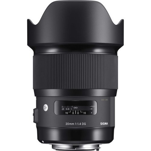 Sigma 20mm f/1.4 DG HSM Art Lens for Nikon F – International Version (No Warranty)