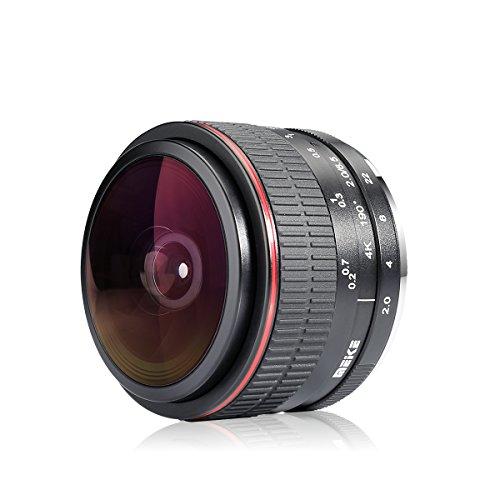 MEKE Meike 6.5mm Ultra Wide f/2.0 Circular Fisheye Lens for Canon EOS-M Mirorrless Camera