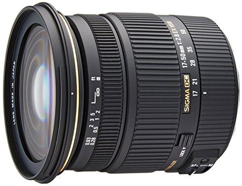 Sigma 17-50mm f/2.8 EX DC OS HSM FLD Large Aperture Standard Zoom Lens for Canon Digital DSLR Camera – International Version (No Warranty)