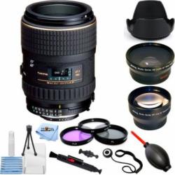 Tokina 100mm f/2.8 AT-X M100 AF Pro D Macro Autofocus Lens for Nikon PRO KIT