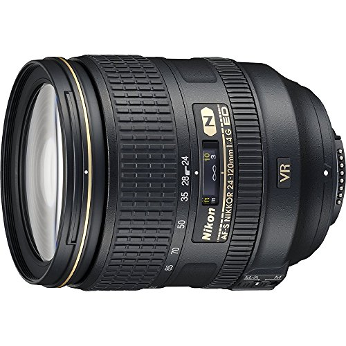 Nikon 24-120mm f/4G ED VR AF-S NIKKOR Lens for Nikon Digital SLR (Certified Refurbished)