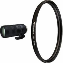 Tamron SP 70-200mm Canon EF Digital SLR Camera with UV Protection Lens Filter – 77 mm