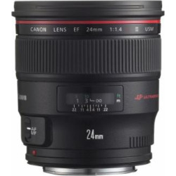 Canon EF 24mm f/1.4L II USM Wide Angle Lens – Fixed
