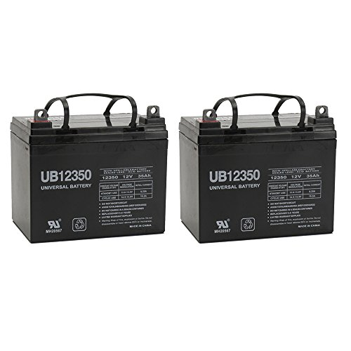 Universal Power Group 12V 35Ah U1 Invacare Pronto M50, M51, M61, M71, Booster Battery – 2 Pack