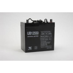 UPG UB12550 (Group 22NF) Battery – Universal Battery – 12V 55Ah [Electronics]