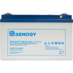 Renogy Deep Cycle Pure GEL Battery 12 Volt 100Ah