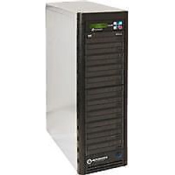 Copywriter DVD NET-20 Pro Daisy-Chainable DVD/CD Duplicator, 20 (22x/48x) Recorders, 1 Reader, 320GB HDD, Multi Tower – No USB