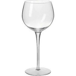 Krosno Ava Wine Glasses Handmade 16oz. Set of 4, Clear