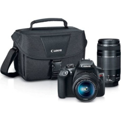 Canon EOS Rebel T6 Dslr Camera Zoom Kit, Multicolor