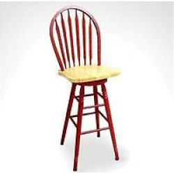 Tms Arrowback Red Stool – 30