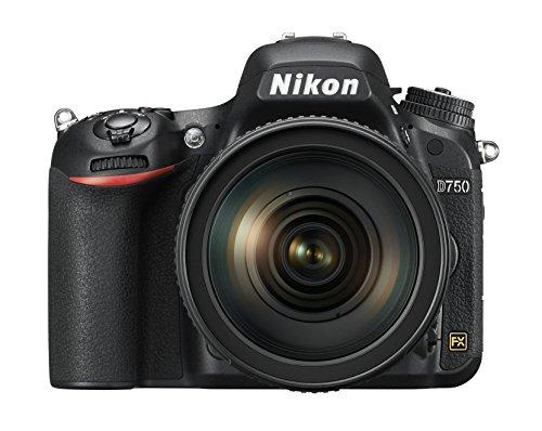 Nikon D750 FX-format Digital SLR Camera w/24-120mm f/4G ED VR Auto Focus-S NIKKOR Lens