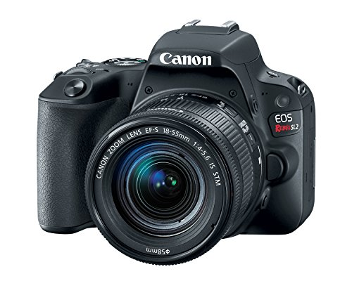 Canon EOS Rebel SL2 DSLR Camera with EF-S 18-55mm STM Lens – WiFi Enabled