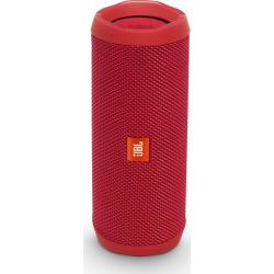 JBL Flip 4 Bluetooth Speaker, Red