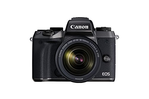 Canon EOS M5 Mirrorless Camera Kit EF-M 18-150mm f/3.5-6.3 IS STM Lens Kit – Wi-Fi Enabled & Bluetooth