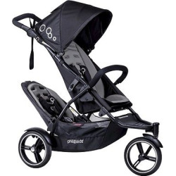 phil&teds Dot Stroller with Second Seat – Graphite (Grey)