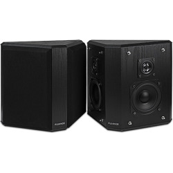 Fluance Home Theater Bipolar Surround Sound Satellite Speakers