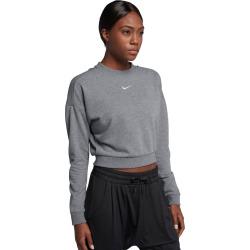 Women's Nike Dry Back Cutout Training Top, Size: XL, Grey