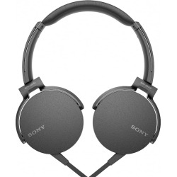 Sony On-Ear Extra Bass Headphones, Black